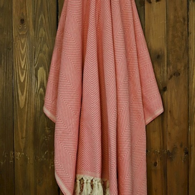 Mina Throw/Coral